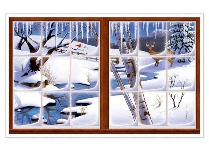 Winterse versiering en decoratie