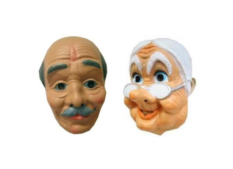 50 jaar Abraham en Sarah maskers
