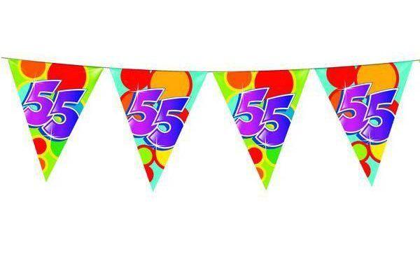 55 jaar versiering voor verjaardag of jubilea