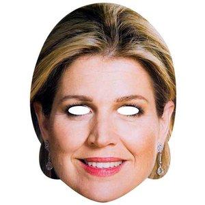 Masker koningin Maxima