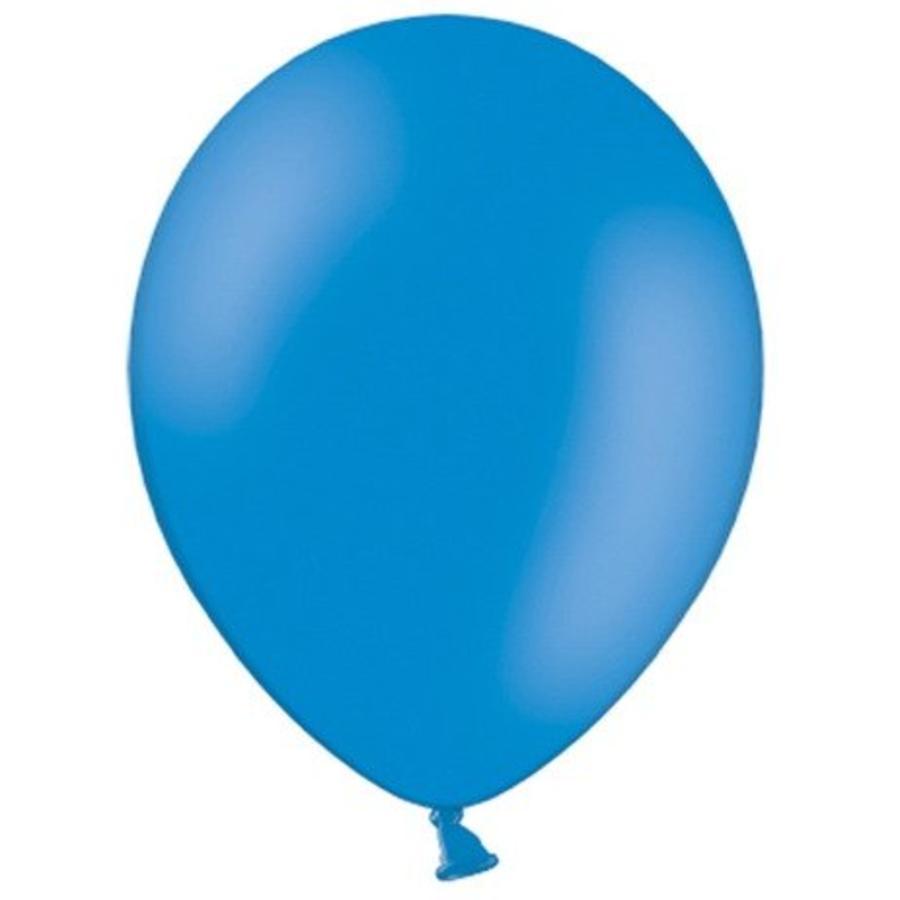 Ballonnen blauw 10 stuks