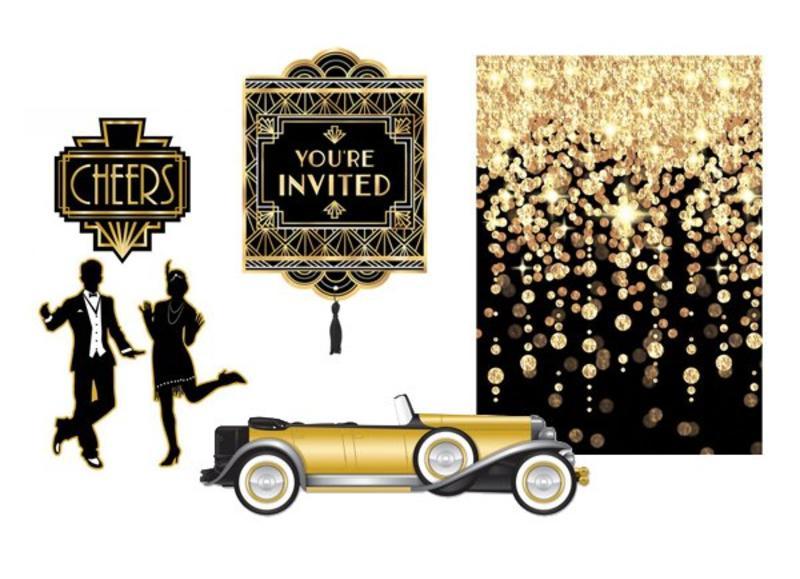 Charleston jaren twintig versiering en feestartikelen