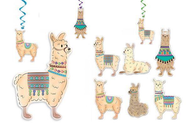 Lama versiering