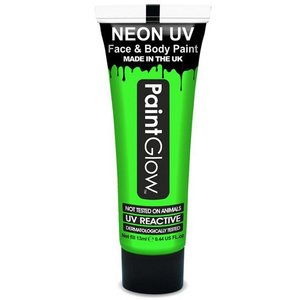 Neon UV paint glow groen