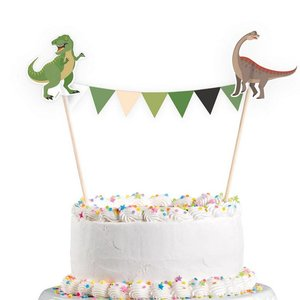 Taartdecoratie Happy Dinosaurus