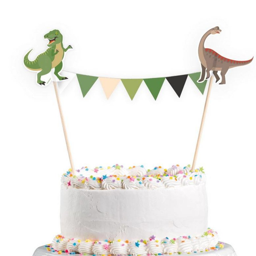 Taartdecoratie Happy Dinosaurus Mega Collectie Dino Feestartikelen Feestartikelen Be