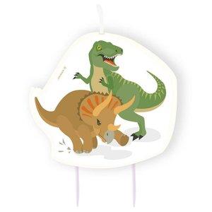 Kaars  Happy Dinosaurus luxe