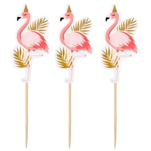 Prikkers Flamingo 12 stuks