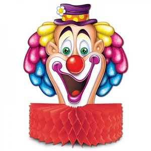 Tafeldecoratie Clown