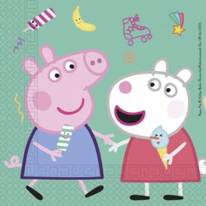 Servetten Peppa Pig en Susy