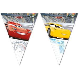Vlaggenlijn Cars geel rood