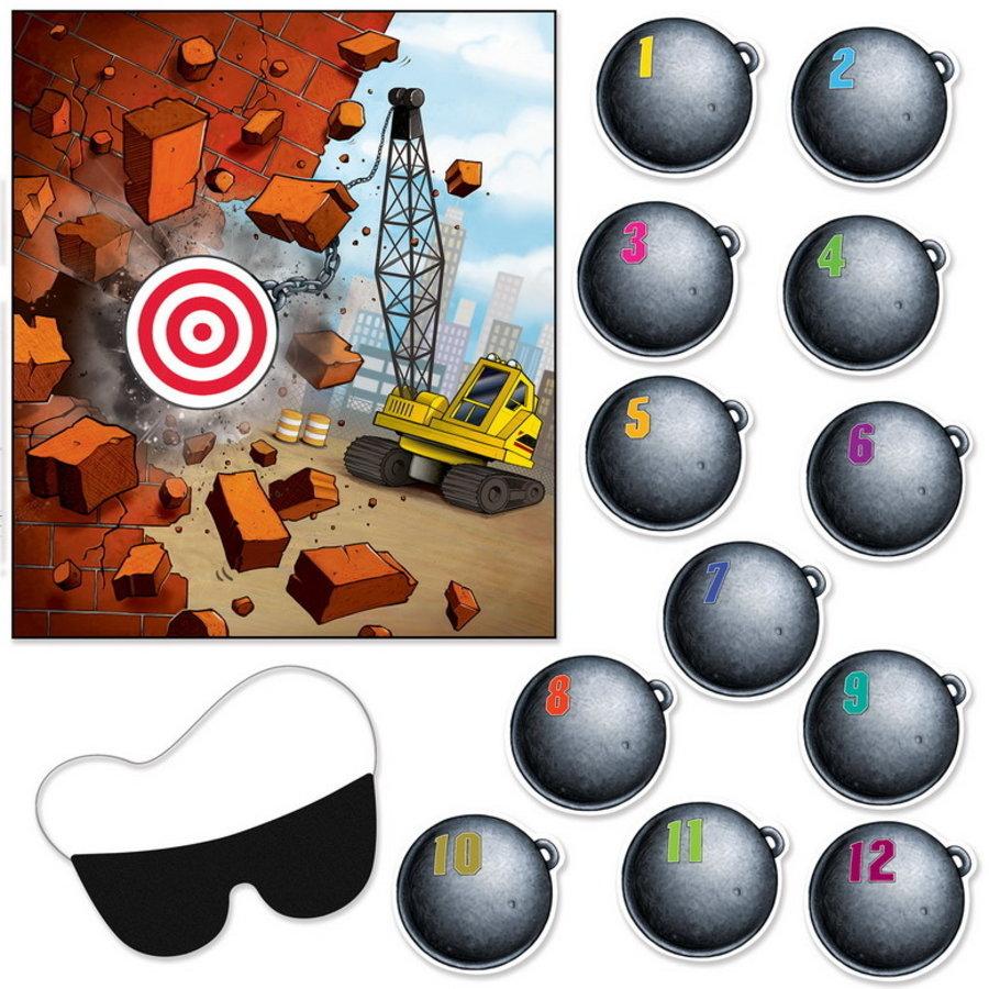 Bouwvakkers sloopkogel game 14 delig