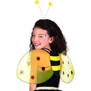 Bijen set vleugels en diadeem