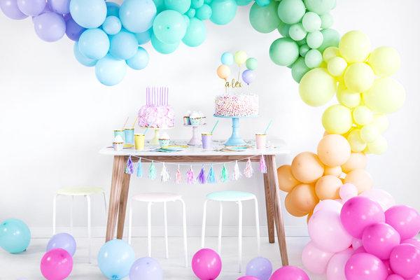 Pastel ballonnen