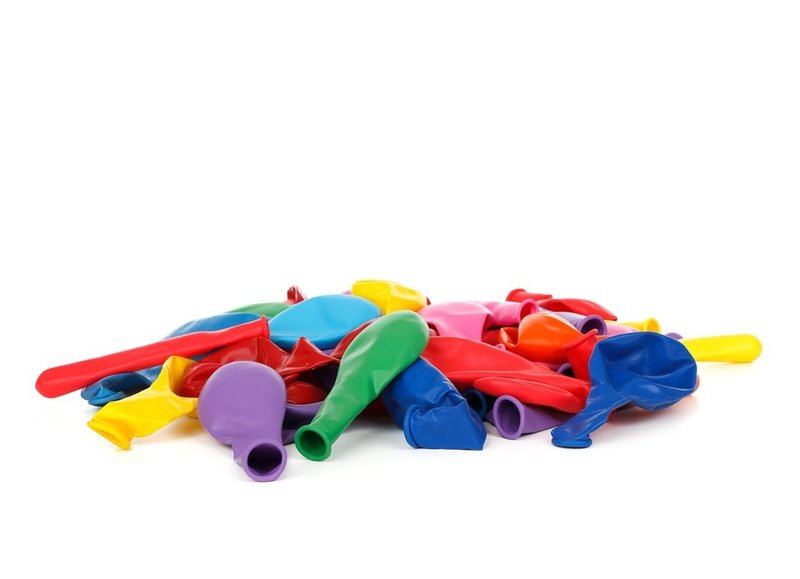 Onbedrukte ballonnen in alle kleuren