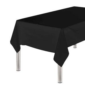 Tafelkleed zwart plastic