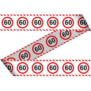 Decoratielint 60 jaar verkeersbord