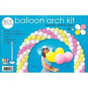 Set voor een ballonnenboog