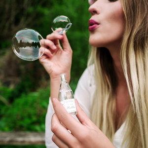 Bellenblaas Royal Bubbles in partyflesje
