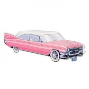 Tafeldecoratie Cadillac pink