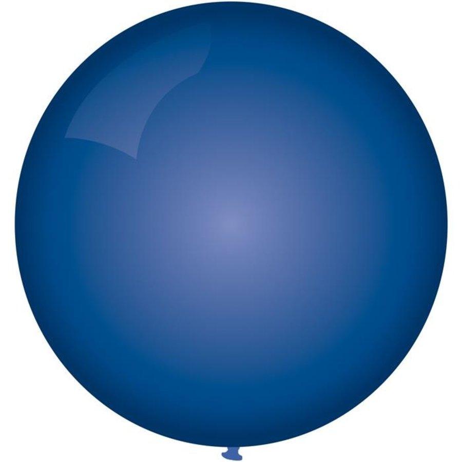 Ballon jumbo donkerblauw 90cm