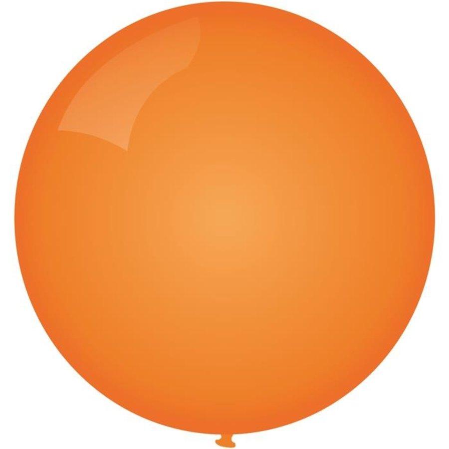 Ballon jumbo oranje 90cm