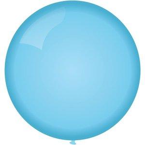 Ballon jumbo lichtblauw 90cm