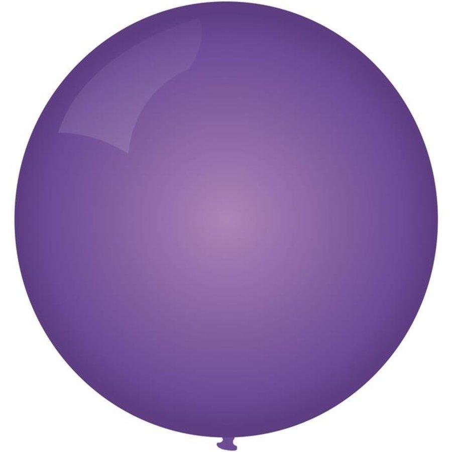 Ballon jumbo paars 90cm
