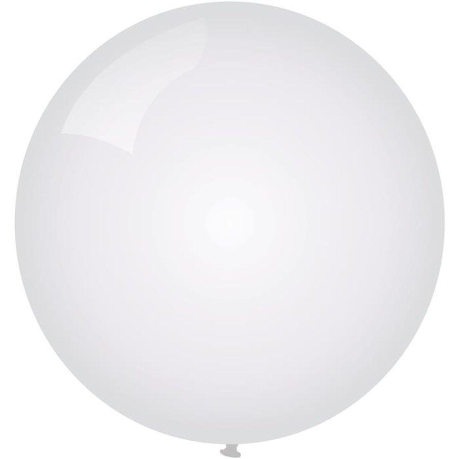 Ballon jumbo wit 90cm
