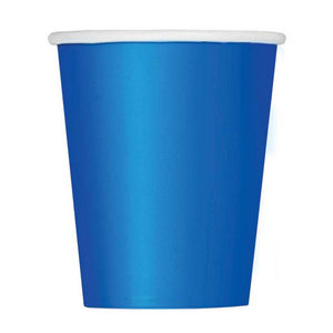Bekertjes blauw 8 stuks