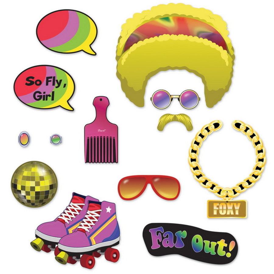 Selfie Foto Fun decoraties Seventies