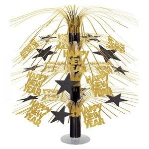 Tafeldecoratie Happy New Year luxe