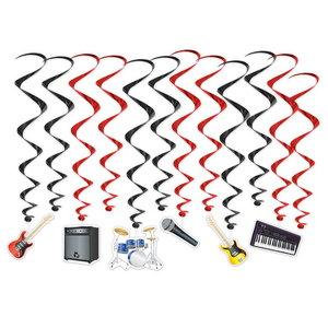 Hangdecoratie Whirls Muziekinstrumenten