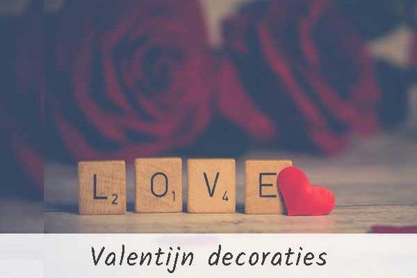 Valentijn versiering