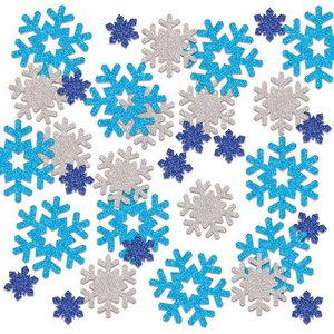 Confetti glitter sneeuwvlokjes luxe