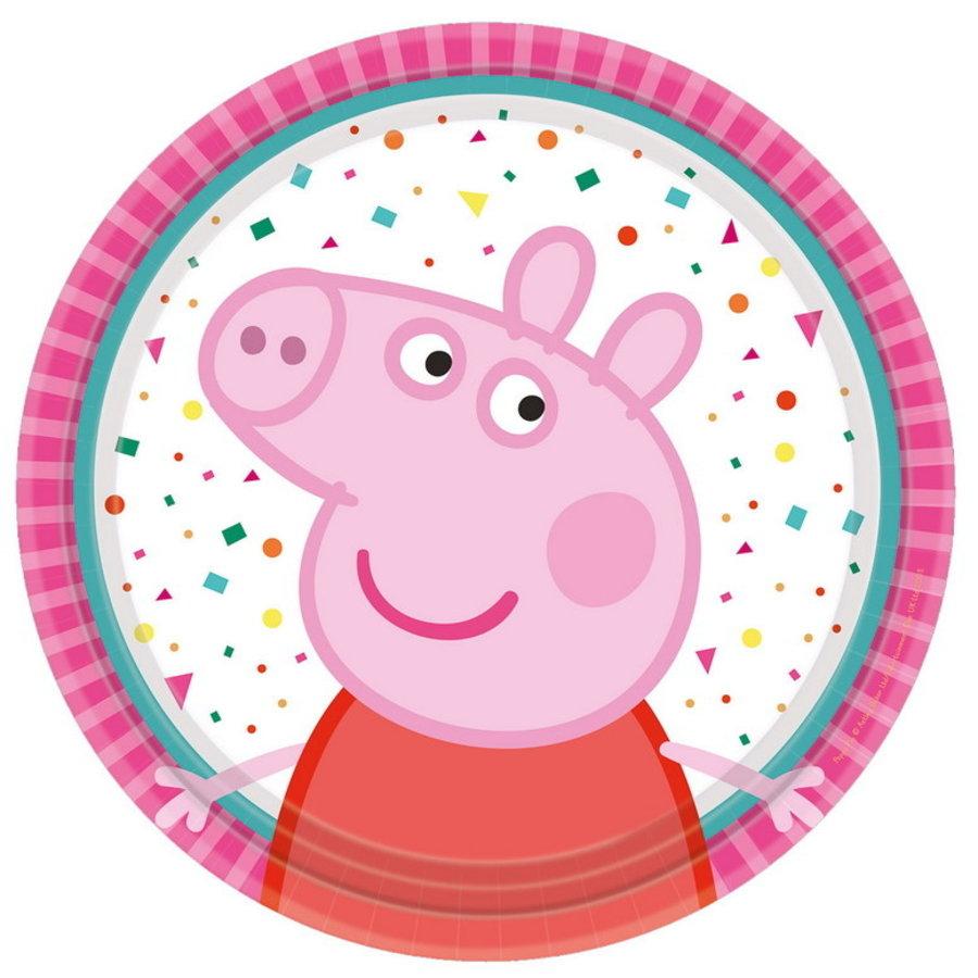 Bordjes Peppa Pig rainbow