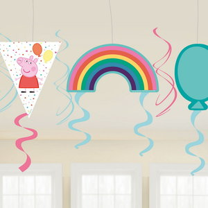Hangdecoraties Peppa Pig Rainbow