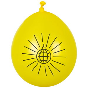 Ballonnen DISCO FEVER 6 stuks