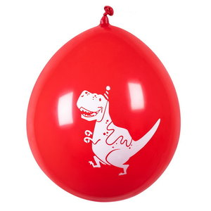 Ballonnen Dino party 6 stuks