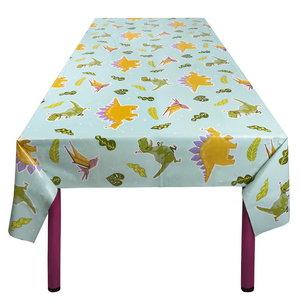 Tafelkleed Dino party 130cm x 180cm