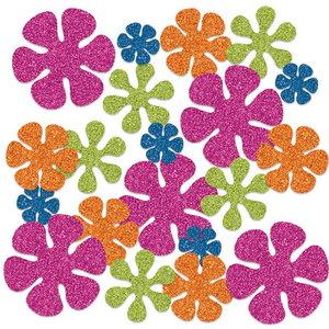Confetti glitter Hibiscus luxe