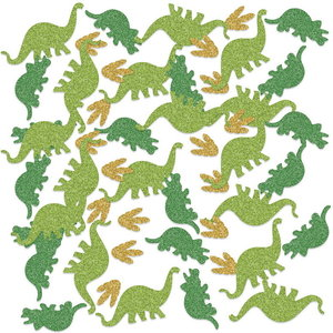 Confetti glitter Dinosaurus luxe