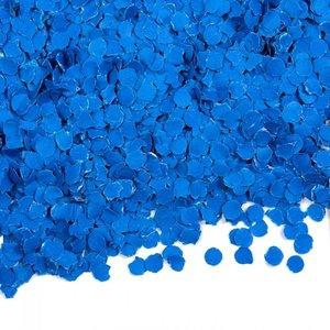 Confetti 100 gram donkerblauw