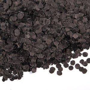 Confetti 100 gram zwart