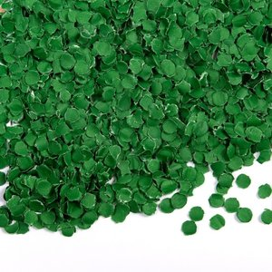 Confetti 100 gram donkergroen