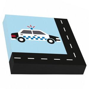Servetten Politie on the road