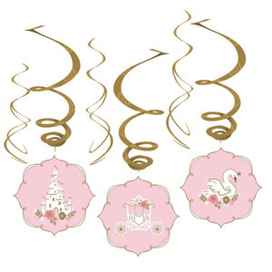 Hangdecoraties Prinsessen Swirls luxe