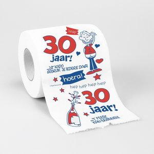 Toiletpapier 30 jaar man