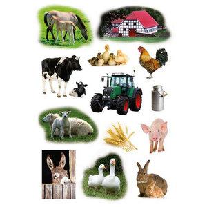 Stickers Boerderij 39 stuks