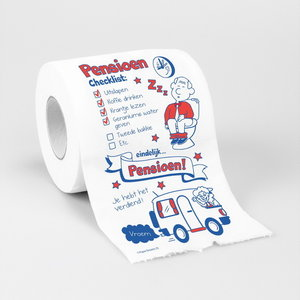 Toiletpapier Pensioen Checklist